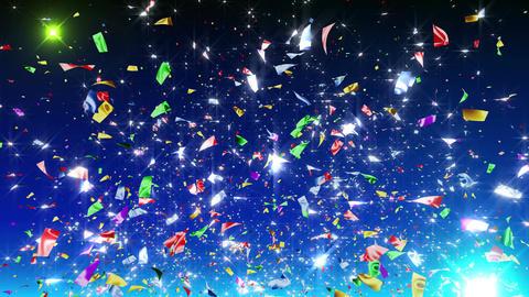 Confetti 4 Slant Fix 2MB L 4k CG動画素材