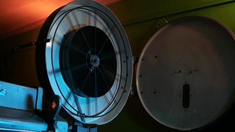 Cinema Projector Footage