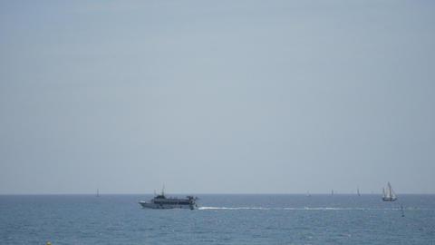 Sea Traffic Footage