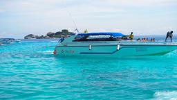 Sailor speedboat anchors Footage