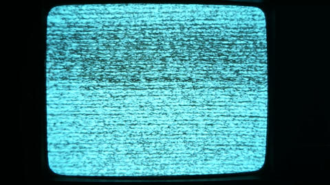 Tv Noise Footage