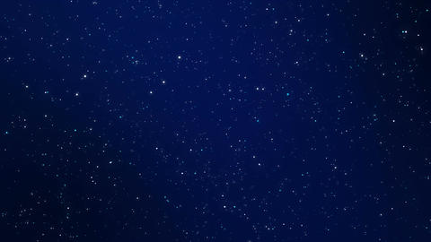 Night sky sparkling background Animation