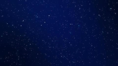 Night sky sparkling background Animation
