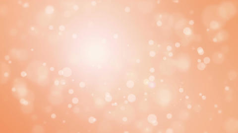 Glowing festive orange background with flickering lights Animation