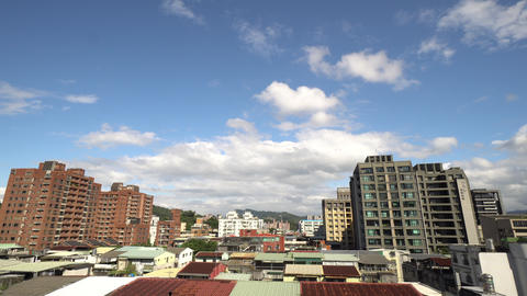 Time-lapse of cloud movement Live Action