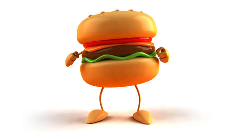 burger dance 1 Animation