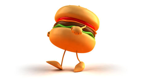 burger hiphop 2 Animation