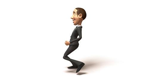 business run 01 Stock Video Footage