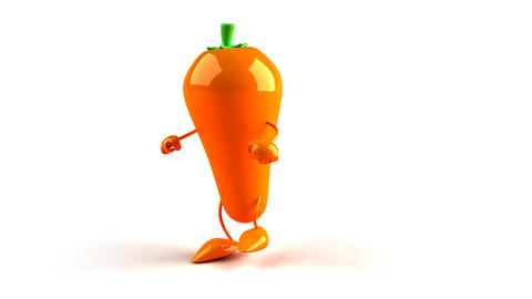 carrot hip hop Stock Video Footage