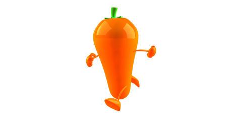 carrot run2 Stock Video Footage