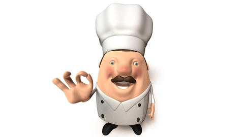 chef right Animation