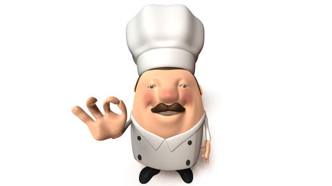 chef right Stock Video Footage