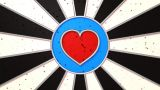 Darts Love stock footage