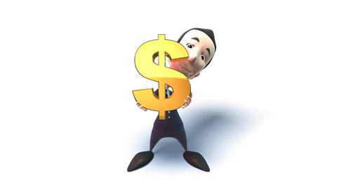 dollar 1 Animation