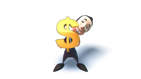 dollar 1 Stock Video Footage