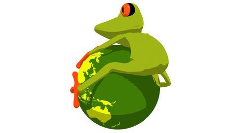frogworldtoon HD Stock Video Footage