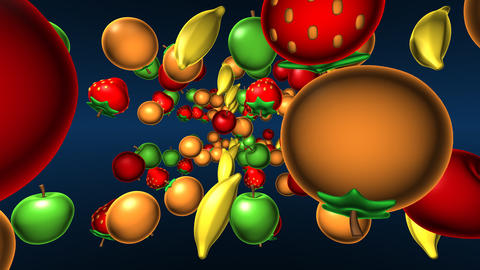 fruits 2 Animation