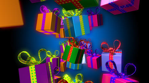 gifts Stock Video Footage