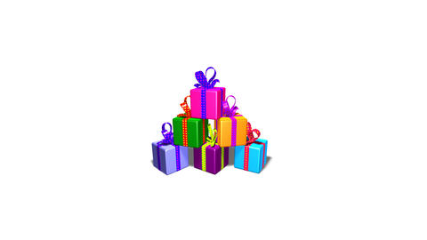 Gifts2b stock footage