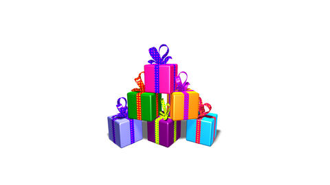 gifts2b Stock Video Footage