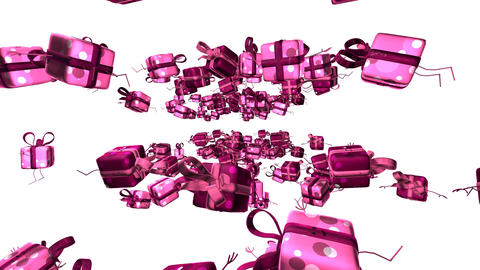 giftspink1 Stock Video Footage