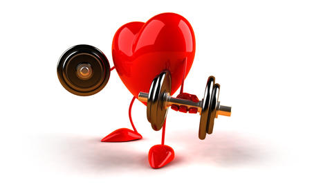 heart weightc HD Animation