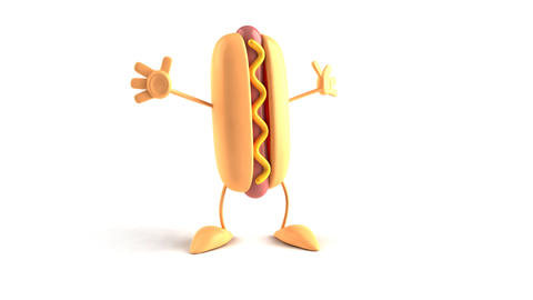 hotdog bow 1 Stock Video Footage