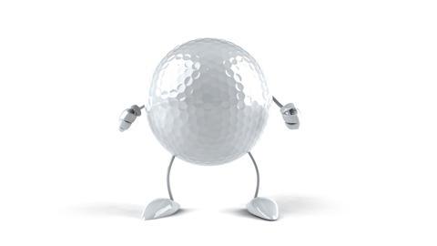golf dance HD Stock Video Footage