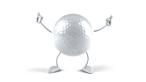 golf dance HD Stock Video Footage