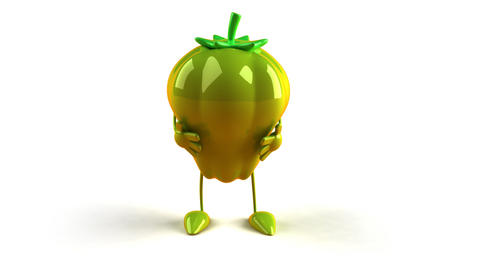 green pepper Animation