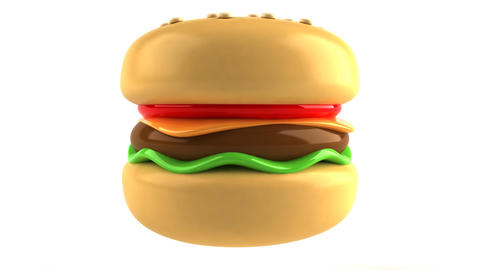 Hamburger 1 stock footage