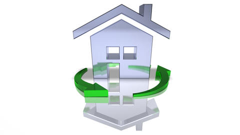 house recycle 2 HD Animation