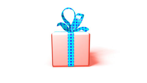 gift box Stock Video Footage