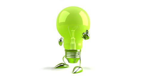 lightbulb1 Stock Video Footage