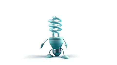 lightbulb2d Stock Video Footage
