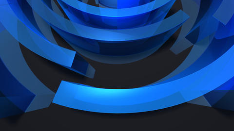 loopingcircles1 Stock Video Footage