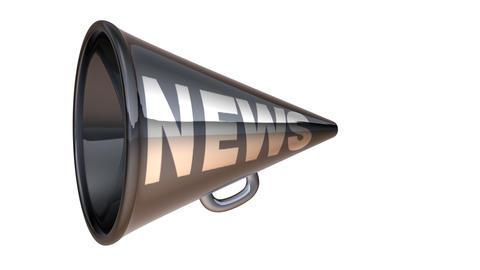 megaphone1 Stock Video Footage