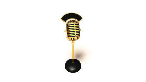 microphone4 Stock Video Footage