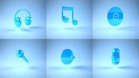 music icons Animation