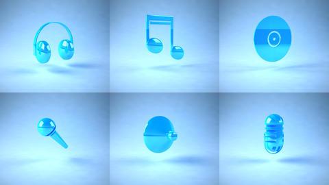 music icons Animation