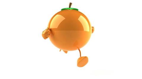 orange1 Stock Video Footage