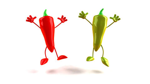 peppers1 Stock Video Footage