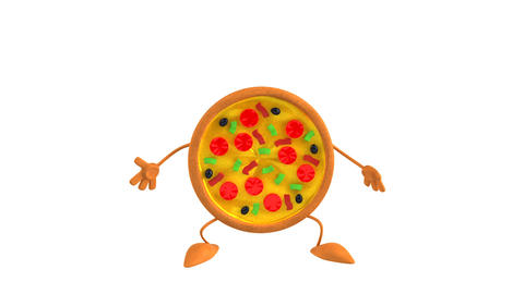 Pizza HD Animation