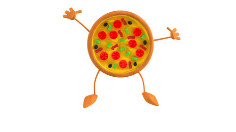 Pizza HD Stock Video Footage