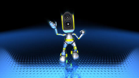 robotdance1 Stock Video Footage