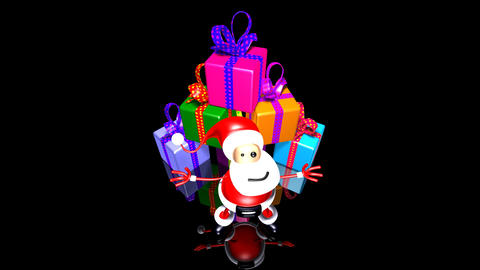 santa gifts Animation