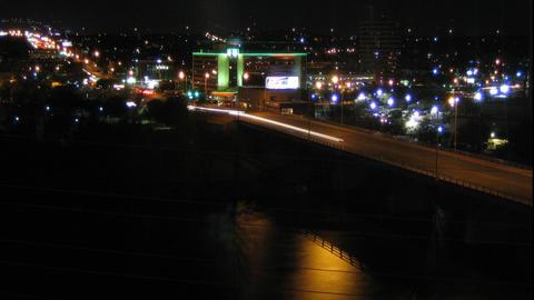 Austin Bridge Stock Video Footage