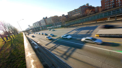 Highway Angle Stock Video Footage