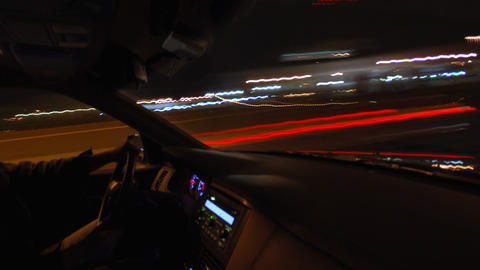 Inside Car Timelapse Footage