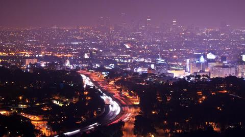 LA overlook Footage